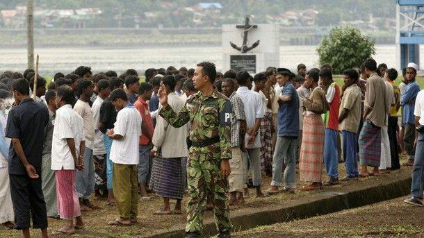 وصول 108 لاجئين روهنجيين إلى شواطئ تايلند قادمين من الهند