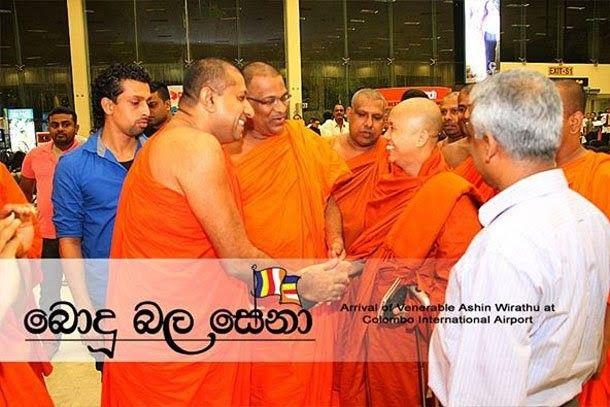 بوذيون متشددون في ميانمار وسريلانكا يتحالفون ضد الاسلاميين
