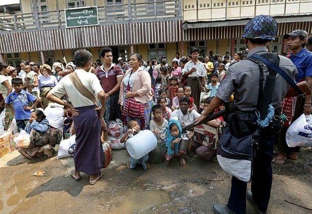 مركز أميركي ينتقد تعامل ميانمار مع العنف ضد المسلمين