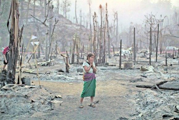 ارتفاع حصيلة ضحايا حريق مخيمات تايلند إلى 60 شخصاً