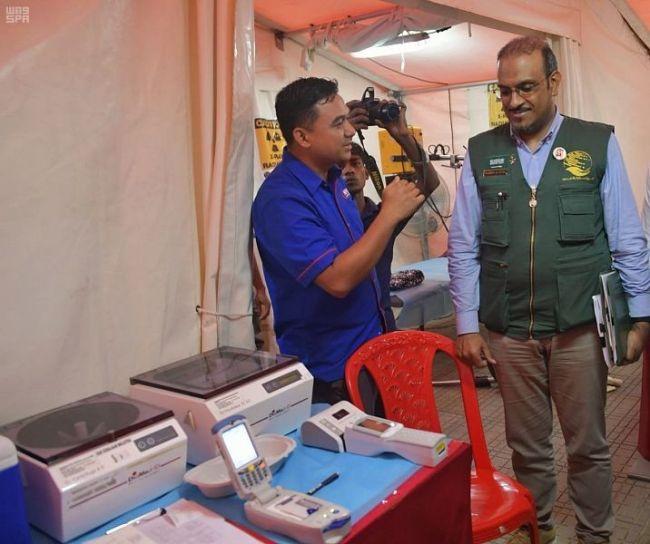 مركز الملك سلمان للإغاثة يقدم مساعدات طبية للروهنجيا في مخيمات بنغلاديش