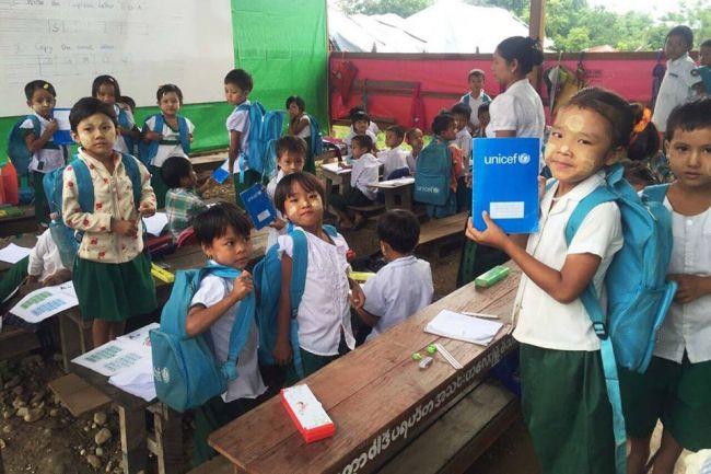 اليونيسف تشيد بالدعوة المشتركة للتسامح الديني لصالح الأطفال في ميانمار