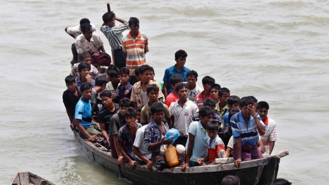 Rohingya asylum seekers stuck on Indonesia's Pulau Liran