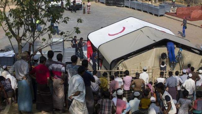 تركيا تبدأ تشييد مستشفى ميداني للروهنغيا في بنغلاديش