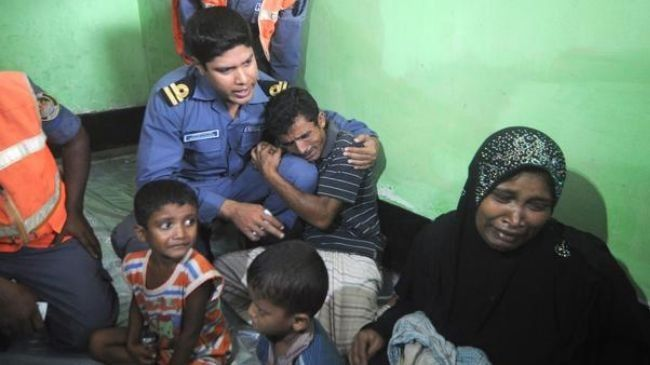 حرس حدود بنجلاديش يقبض على 57 لاجئاً روهنجياً غير نظامي