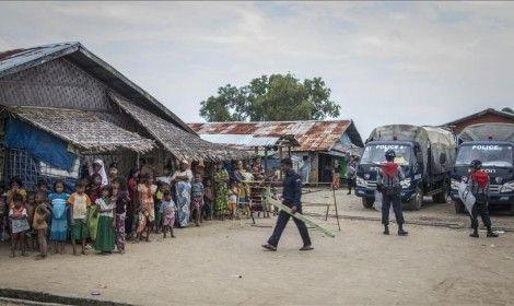 """ميانمار تفرض حظر تجوال ليلي في """"أراكان"""""""