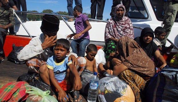 شرطة جاكرتا تقبض على 16 مهاجراً روهنجياً من مرسى للصيد