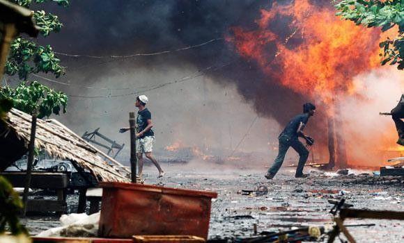 غوغائيون بوذيون يحرقون 3 قرى للمسلمين في وسط بورما