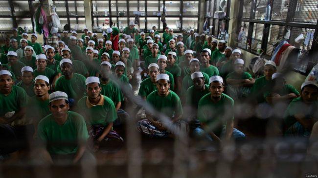 مسلمو الروهنجيا يحافظون على شعائر الشهر الفضيل في مراكز الاحتجاز بتايلند