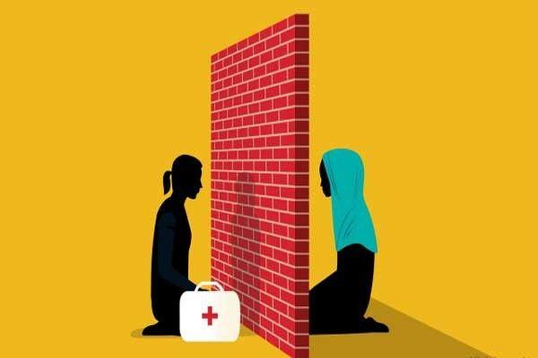 الكثير من الروهنجيا يجتنبون استعمال الكلمات الغير مقبولة في مجتمعهم أمام الطبيب المعالج
