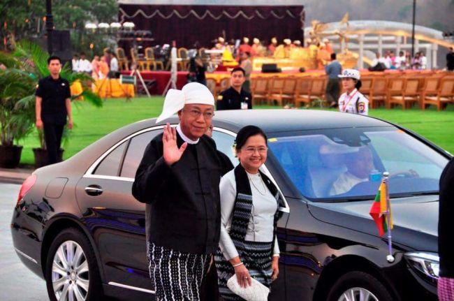 استعدادات في بورما لحفل استقبال الرئيس الجديد