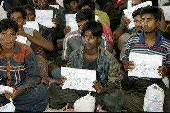 أكثر من 200 لاجئي روهنجي يتم العثور عليهم جنوب تايلاند