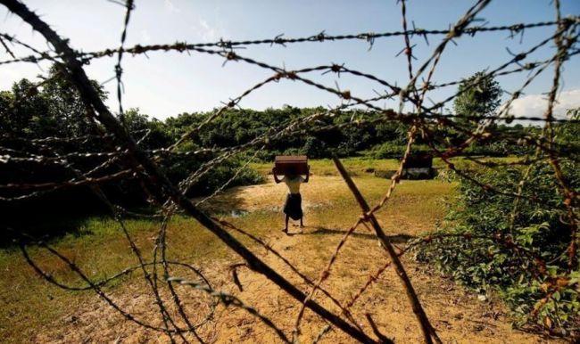 مصدران حكوميان في داكا : ميانمار تضع ألغاما قرب الحدود مع بنجلادش
