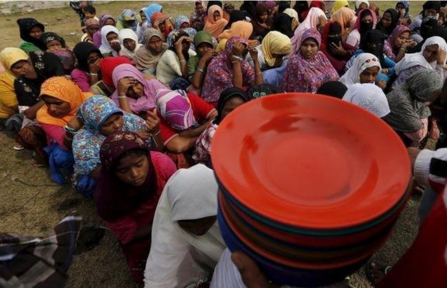الصليب الأحمر يشغل مكان الأمم المتحدة الشاغر بمنطقة العنف في ميانمار