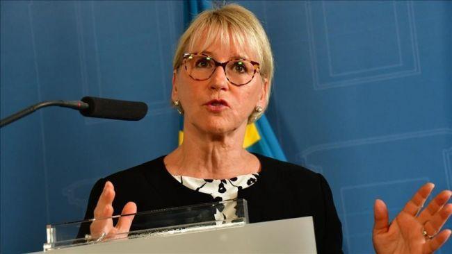 """وزيرة خارجية السويد تدعو لـ""""تشديد الضغوط"""" على ميانمار"""