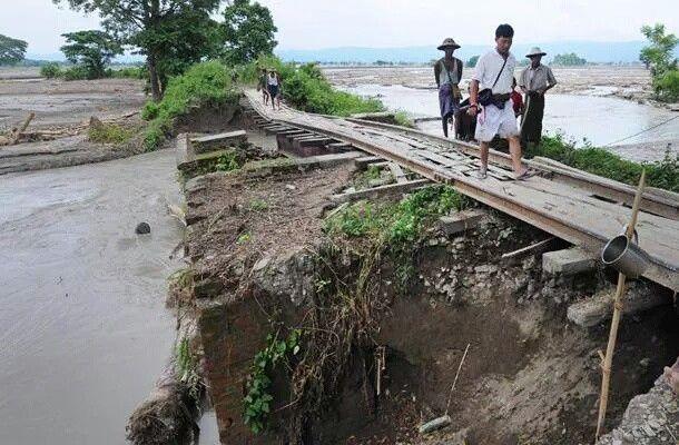انزلاق التربة يسفر عن مصرع 17 شخصاً في بورما