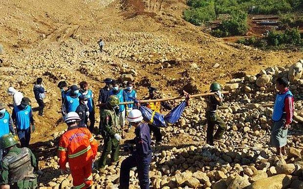 إصابة ألمانيين جراء انفجار لغم في شمال بورما