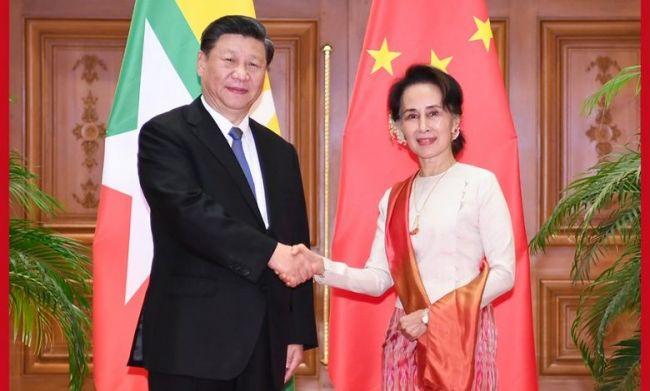 رئيس الصين يوقع في ميانمار على 30 اتفاقية اقتصادية