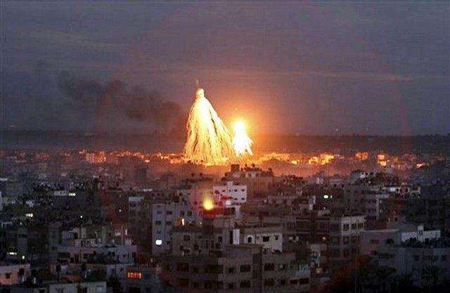 ارتفاع ضحايا الغارات الإسرائيلية على غزة إلى 25 قتيلا
