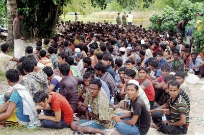 وفد من منظمة التعاون الإسلامي يتفقد أوضاع الروهنجيا في جنوب تايلاند