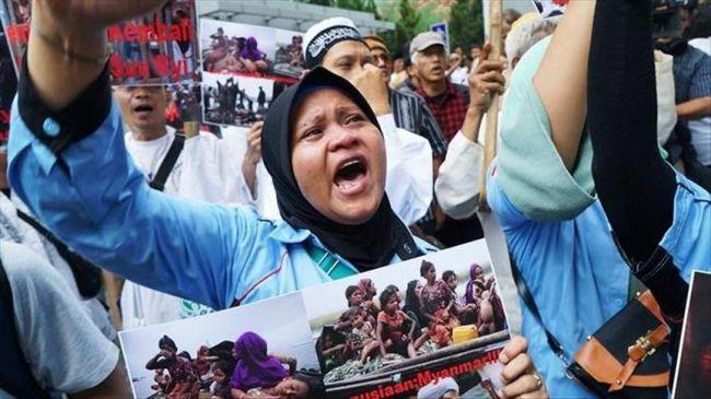 إندونيسيا.. تظاهرة منددة بالعنف ضد مسلمي الروهينغا