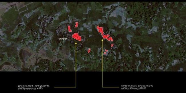 هيومن رايتس: حرق 430 منزلا لمسلمين بميانمار