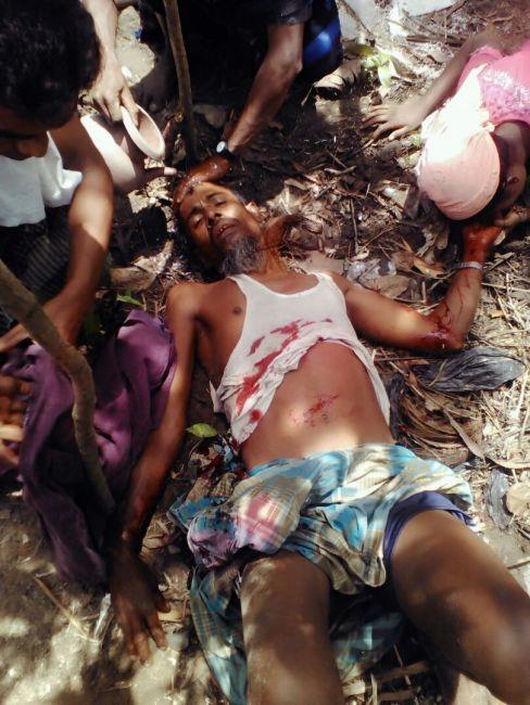 هجوم عنيف من الجيش البورمي على قرى أراكان