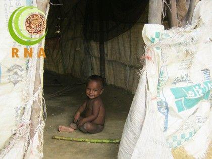 الأمراض تهدد بموت أطفال الروهنجيا في المخيمات غير الرسمية ببنغلاديش
