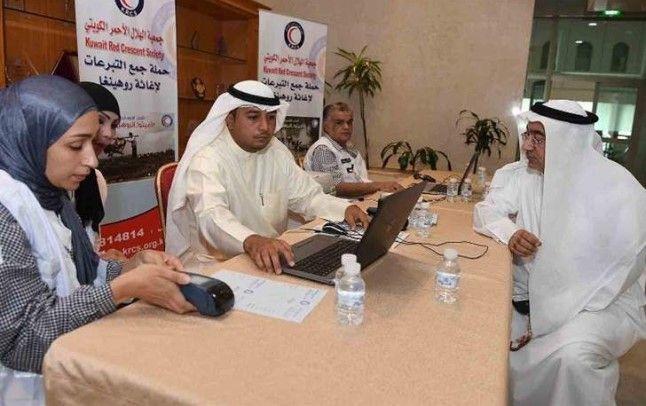 «الهلال الأحمر الكويتي» تطلق حملة تبرعات لإغاثة الروهينغيا