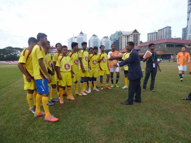 الفريق الروهنجي لكرة القدم بماليزيا (RFC) يتفوق على فرق ماليزية