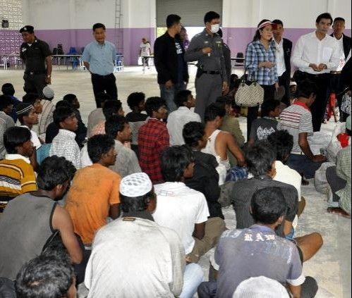 العثور على مزيد من اللاجئين الروهنجيين قبالة سواحل تايلاند