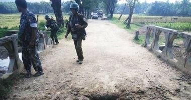 اقتحام مقر للشرطة وسرقة أسلحة حكومية في ولاية أراكان