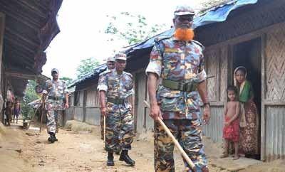 مراسل الوكالة: حرس حدود بنجلاديش تلقي القبض على اثنين من اللاجئين الروهنجيين