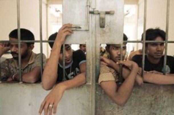اعتقال عشرة لاجئين روهنجيين حالوا الهروب من المعتقل في آتشيه