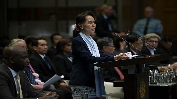 مسلمو الروهينغا يتهمون زعيمة ميانمار سان سو كي بالكذب أمام محكمة العدل الدولية