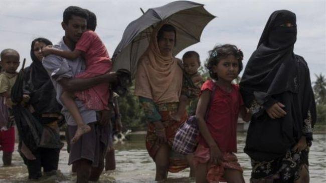 4 قتلى و3 مصابين لدى مهاجمة فيل مخيما للاجئي الروهنغيا