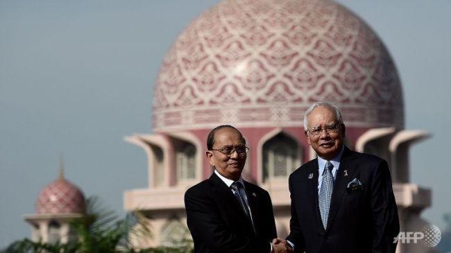 رئيس وزراء ماليزيا يجري مباحثات مع رئيس ميانمار