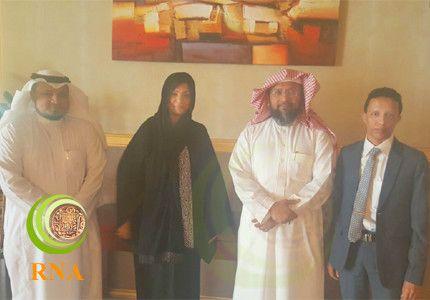 """""""فياض"""" و """"عطا نور"""" يلتقيان بالأمين العام لمنظمة مملكة أراكان"""