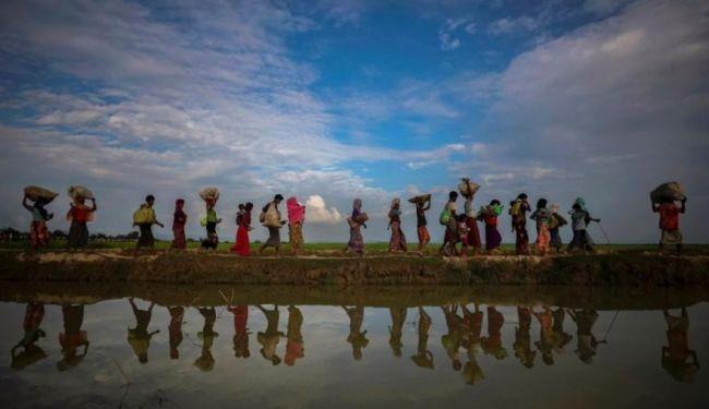 مسؤولون من ميانمار يحاولون إقناع الروهينجا بالعودة للبلاد